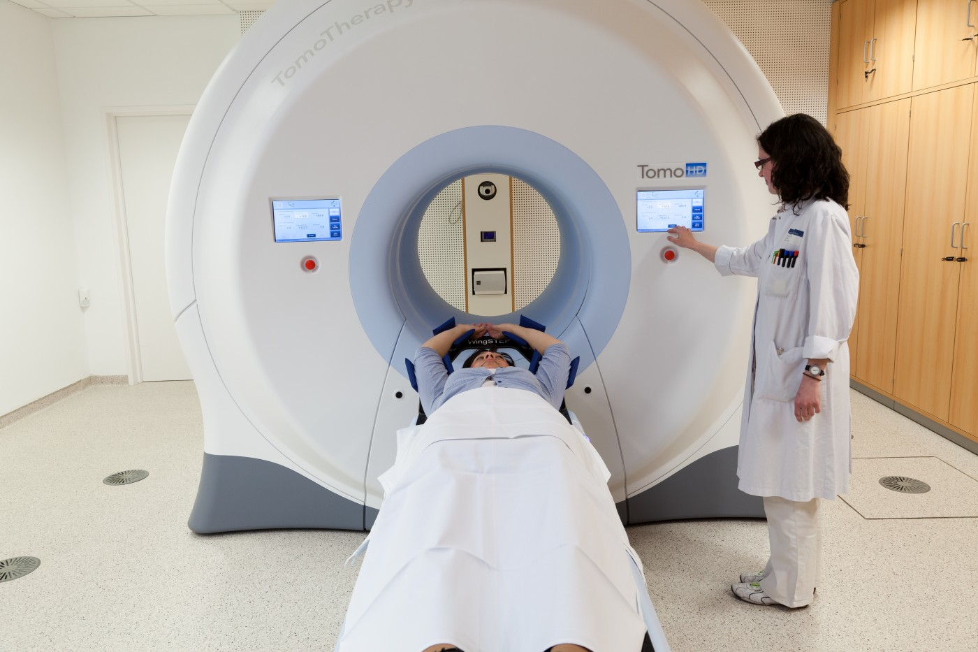 TomoTherapy System Treating Breast Cancer Patients In Latin America